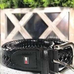 Tommy Hilfiger bonded leather belt black 42/105